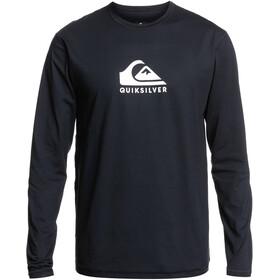 Quiksilver Solid Streak LS Surf Tee Men, negro
